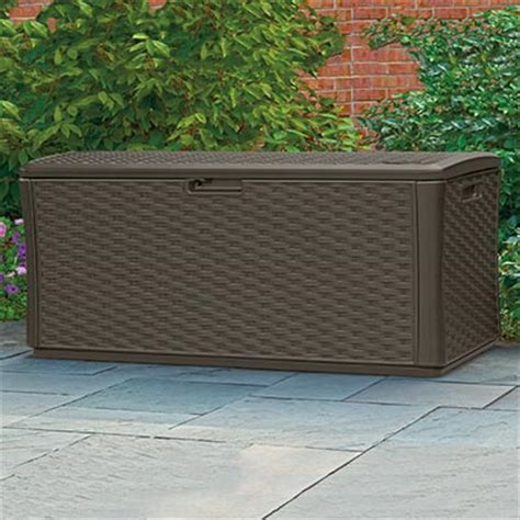 suncast large deck box 134 gallon deck box images