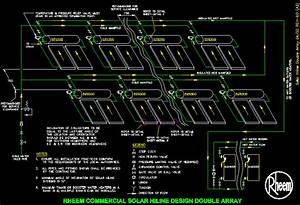 Photovoltaic Panel Detail In Autocad