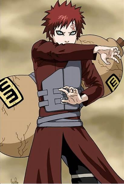 Gaara Naruto Sand Shippuden Anime Deviantart Reader
