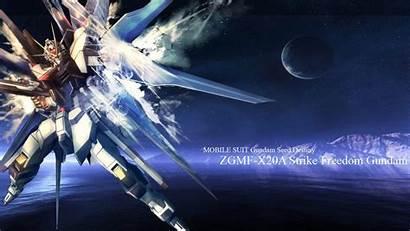 Gundam Freedom Strike Wallpapers Deviantart Desktop Seed