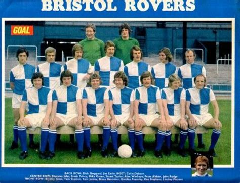 Bristol Rovers team group in 1973. | Bristol rovers ...