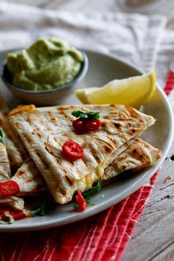 Chicken and Cheese Quesadilla Recipe