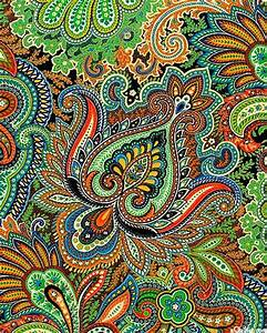 eQuilter Taj Mahal - A Princely Paisley - Willow Green ...