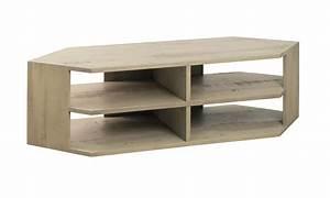 Meuble D Angle Tele : meuble t l d 39 angle 140 cm ~ Teatrodelosmanantiales.com Idées de Décoration