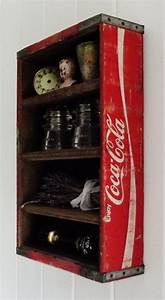 Coca Cola Möbel : vintage wood coca cola display crate coca cola pinterest diy m bel inneneinrichtung ~ Indierocktalk.com Haus und Dekorationen