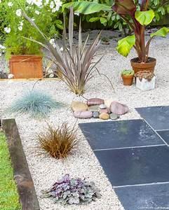 Gravier Pour Jardin : jardin sur gravier r ussir l 39 am nagement d 39 un jardin de ~ Premium-room.com Idées de Décoration