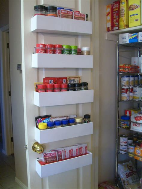 Spice Storage Racks by Robbygurl S Creations Diy Pantry Door Spice Racks