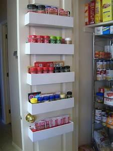 RobbyGurl's Creations: DIY Pantry Door Spice Racks