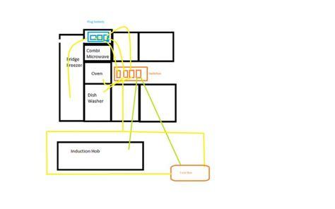 Kitchen Wiring Appliances With Grid Switch Help Diynot