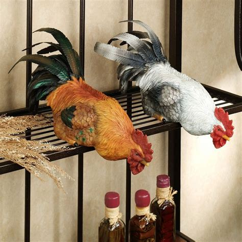 Chicken Decorating Ideas For The Kitchen by Best 25 Rooster Decor Ideas On Image Chicken