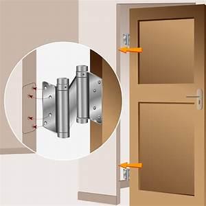 Comment Poser Une Charnière Plate : installer une porte battante porte ~ Dailycaller-alerts.com Idées de Décoration