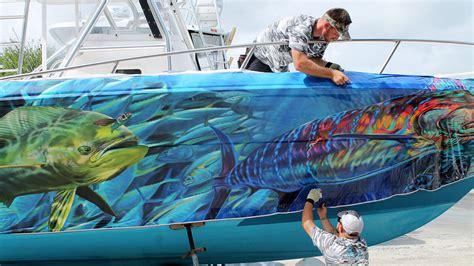 Boat Wraps Designs For Sale by Jason Mathias Boat Wrap Designs