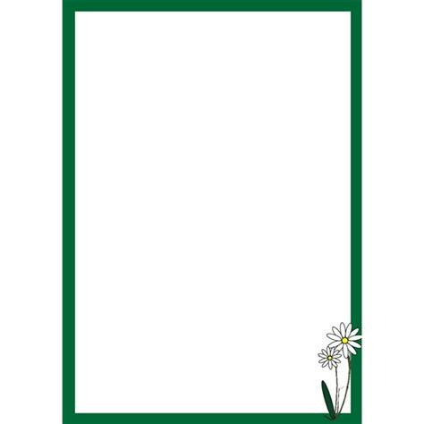flower borders  word document clipground