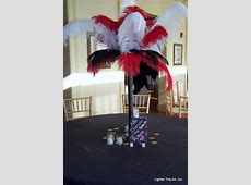 Moulin Rouge table centerpiece Love the small