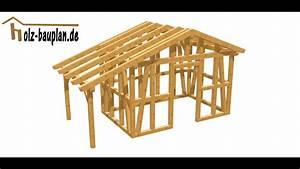Gerätehaus Selber Bauen Bauplan : gartenhaus selber bauen youtube ~ A.2002-acura-tl-radio.info Haus und Dekorationen