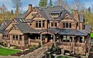 luxury craftsman style home plans plan w23290jd corner lot craftsman luxury premium