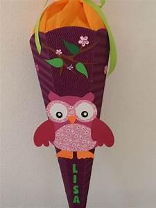 Schultüte Mädchen Basteln : zauberhafte schult te pferd mit kleeblatt pink und ~ Lizthompson.info Haus und Dekorationen