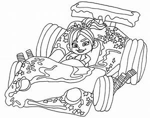 Wreck It Ralph Sugar Rush Racers Coloring Pages | www ...