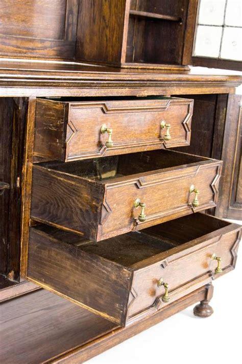 antique scottish oak welsh dresser sideboard buffet