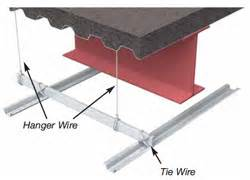 hanger wire tie wire clarkdietrich building systems
