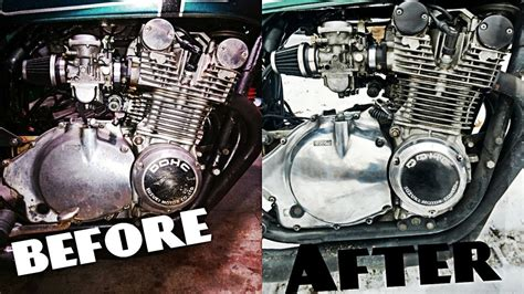 Polish Your Dirty Old Motorcycle Engine