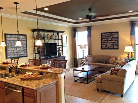 Ideas For Kitchen And Family Room by 18 Ideas To Design Comfortable Your Family Room Interior