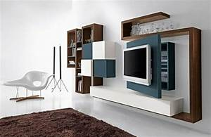 le meuble suspendu de salon decore et modernise le salon With meubles de rangement salon 3 meuble de salon italien design france