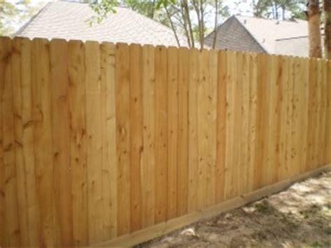 wood fences kingwood fence