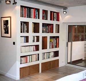 Caisson Bibliotheque Modulable : meuble salon bibliotheque ~ Edinachiropracticcenter.com Idées de Décoration
