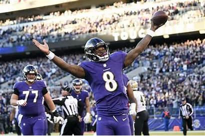 Lamar Jackson Ravens Baltimore Nfl Bengals Football