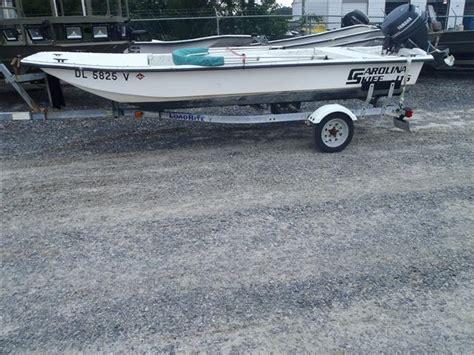 Carolina Skiff Guide Boat by 2000 Carolina Skiff Boats For Sale