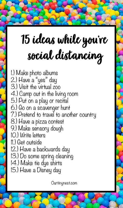 15 things to do with your kids while you're social
