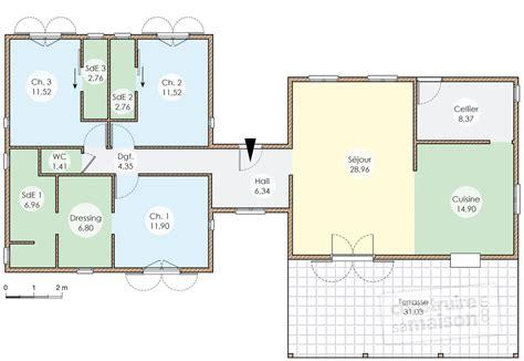 une maison avec piscine en guadeloupe dé du plan de