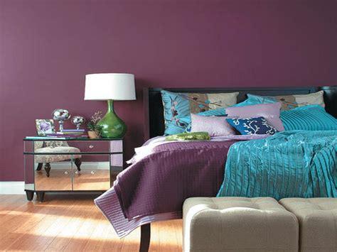 Dark purple wall color, best bedroom wall color purple