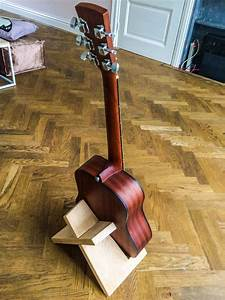 Build, This, Simple, Guitar, Stand, From, A, Single, Board, Of, Wood