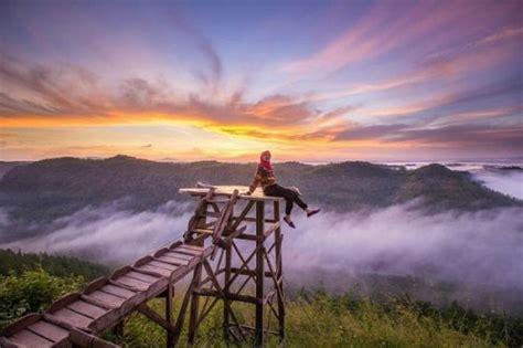 tempat wisata hutan pinus mangunan jogja rute lokasi