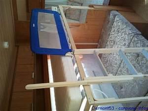 Fabriquer Mini Caravane : amenagement lit superpos caravane table de lit a roulettes ~ Melissatoandfro.com Idées de Décoration