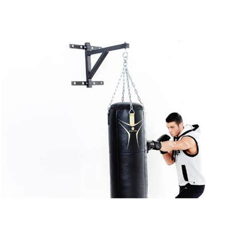 fixation murale sac de frappe suspension murale de sac de frappe domyos by decathlon