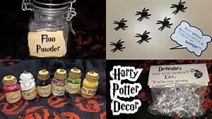 Harry Potter Decoration : diy harry potter halloween decor youtube ~ Dode.kayakingforconservation.com Idées de Décoration