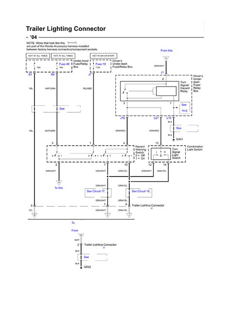 2003 Honda Pilot Radio Wiring Diagram by Repair Guides Wiring Diagrams Wiring Diagrams 11 Of