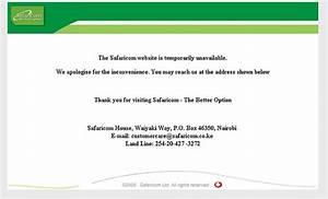 Safaricom, Website, Defaced
