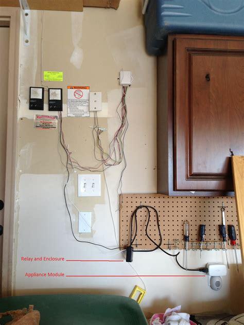 z wave garage door how to make an adt pulse z wave garage door opener using