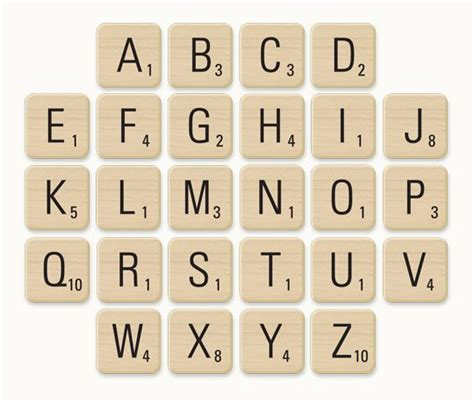Printable Scrabble Tiles by 7 Best Images Of Printable Scrabble Tiles For Teachers