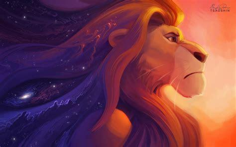 il  leone hd wallpaper sfondi  id