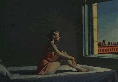 Hopper Edward Most Paintings Gifs Painter Sun