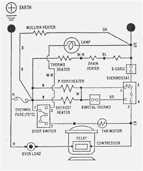 whirlpool refrigerator electrical diagram wiring diagram and schematics