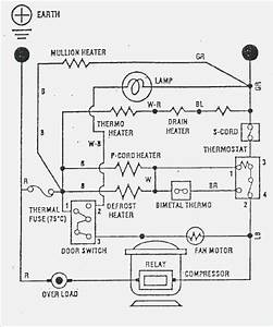 Whirlpool Refrigerator Electrical Diagram