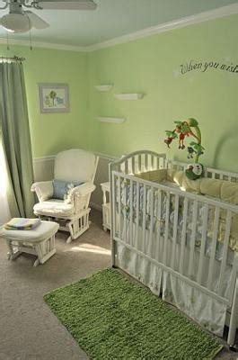 Serene Green Gender Neutral Nursery