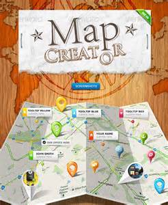 Paper Folded Maps
