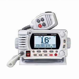 Standard Horizon Gx1850 Fixed Mount Vhf - Nmea 2000 - White